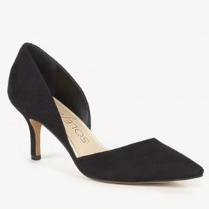 Sole Society black suede shoes